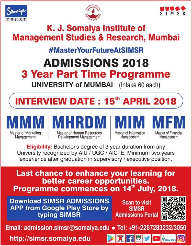 K. J. Somaiya Institute of Management Studies and Research, Mumbai