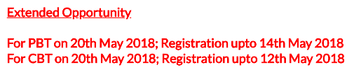 NMAT Exam 2018 May Registration