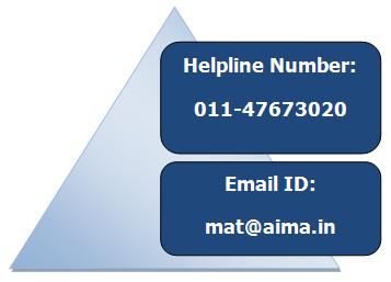 MAT Exam Helpline Number