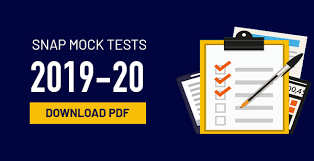 SNAP Mock Tests 2019-20