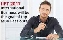International Business will be the goal of top MBA Pass outs