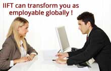 IIFT can transform you as employable globally