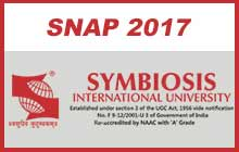 SNAP Exam 2017 - Impotant Dates & Information