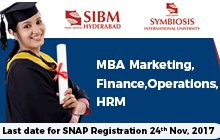 SIBM Hyderabad - A Student-driven Institute
