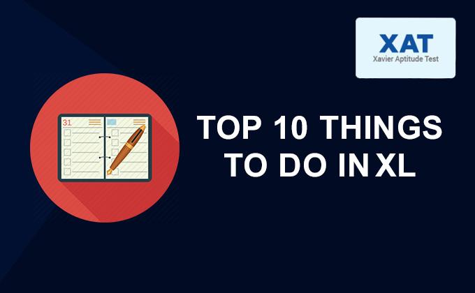 Top 10 things todo inXL