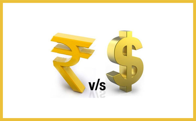 why dollar value is more than rupee