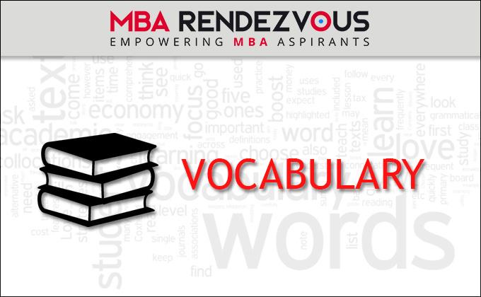 English Vocabulary words PDF
