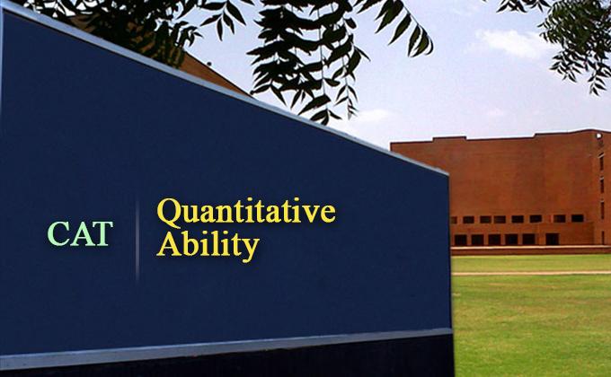 CAT Quantitative Aptitude, CAT Exam Quantitative Ability QA