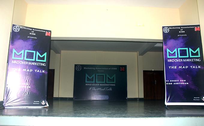 The Mad Talk Mad Over Marketing Workshop at XIMB