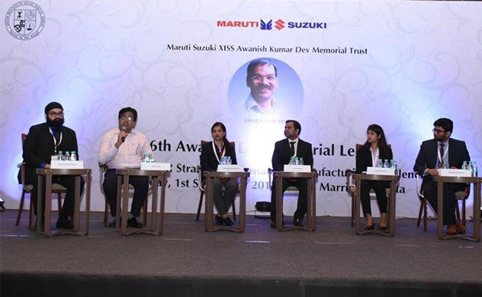 XLRI Students Participated As Panelists to Discuss Importance of Employee Relations