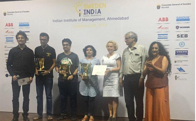 MICAN'S in the national top 7 of Sweden India Nobel Memorial Quiz 2018