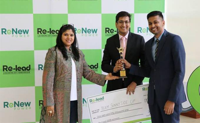 MDI Gurgaon emerge winners of RELEAD 2018 – ReNew Power's B School Case Study Contest