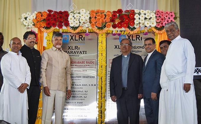 XLRI Lays Foundation Stone for New Campus in Amravati -Andhra Pradesh