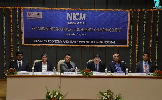 Day 3    22nd Nirma International Conference on Management (NICOM 2019)