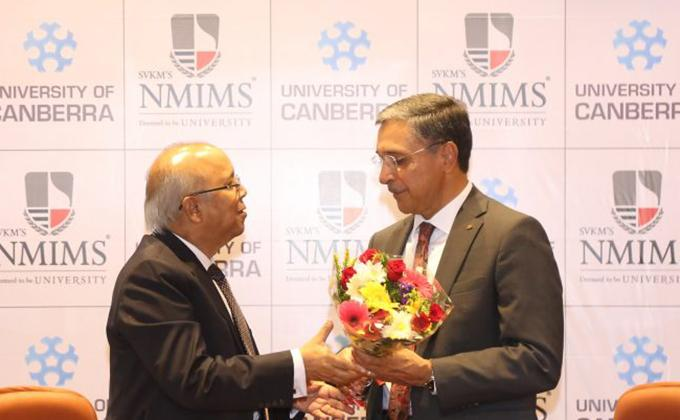 NMIMS signs up with University of Canberra