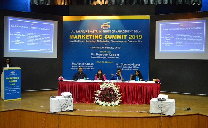 New Marketing Realities: Technology, Globalization & Sustainability – Marketing Summit 2019 @ LBSIM