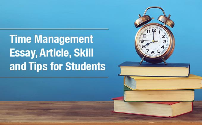 Time Management Tips, Skills for Students