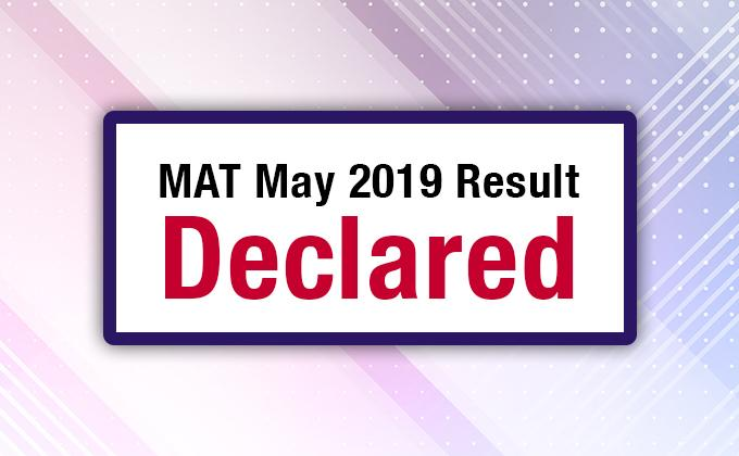 AIMA MAT May 2019 Results Declared on 24th May 2019