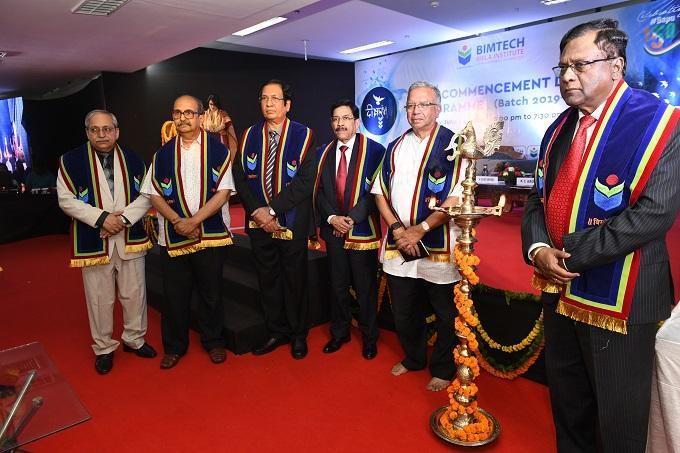 DEEKSHAARAMBH & Common Orientation Programme of PGDM Batch held at BIMTECH, Gr Noida