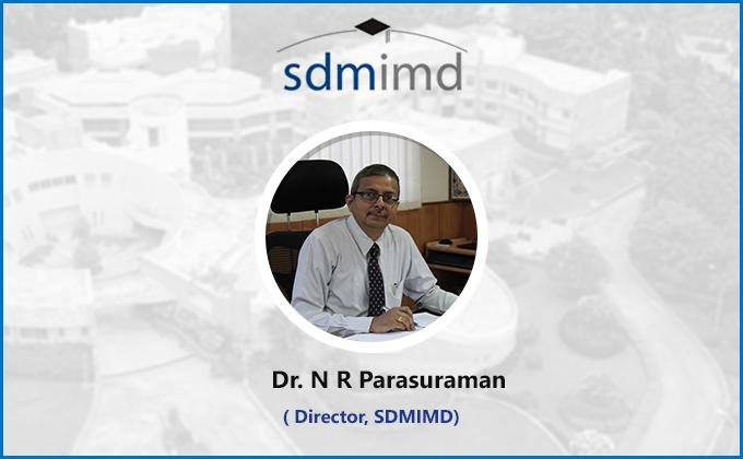 SDMIMD Director Dr. N R Parasuraman appointed for EPAS Accreditation Board