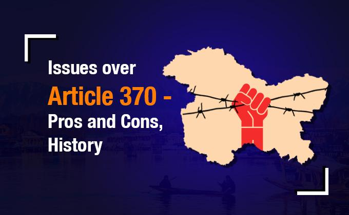 Essay on Article 370, advantages and disadvantages