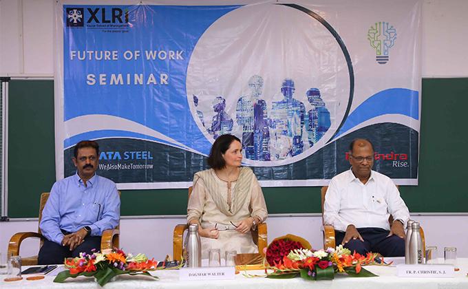 """XLRI Organizes a Seminar on the ILO's Centennial Theme of """"The Future of Work"""